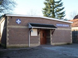 Scout Hall outside